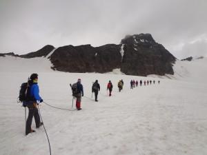 Einsteigerhochtour auf den Pitz Buin (3312m) 2012