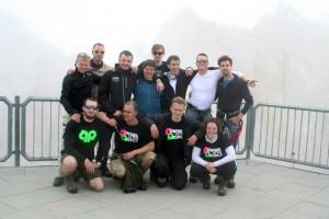 Besteigung-Zugspitze