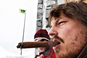 Churchill Powder Party Zigarren als Gimmick