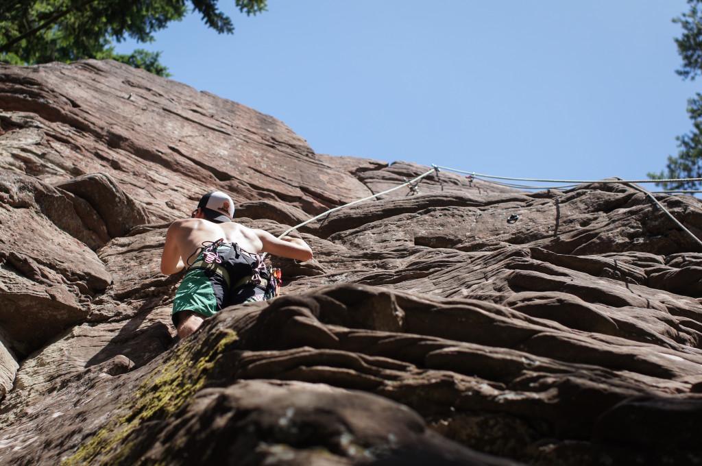 Klettersteig Pfalz : Kletterwochenende in der pfalz und frankreich powder