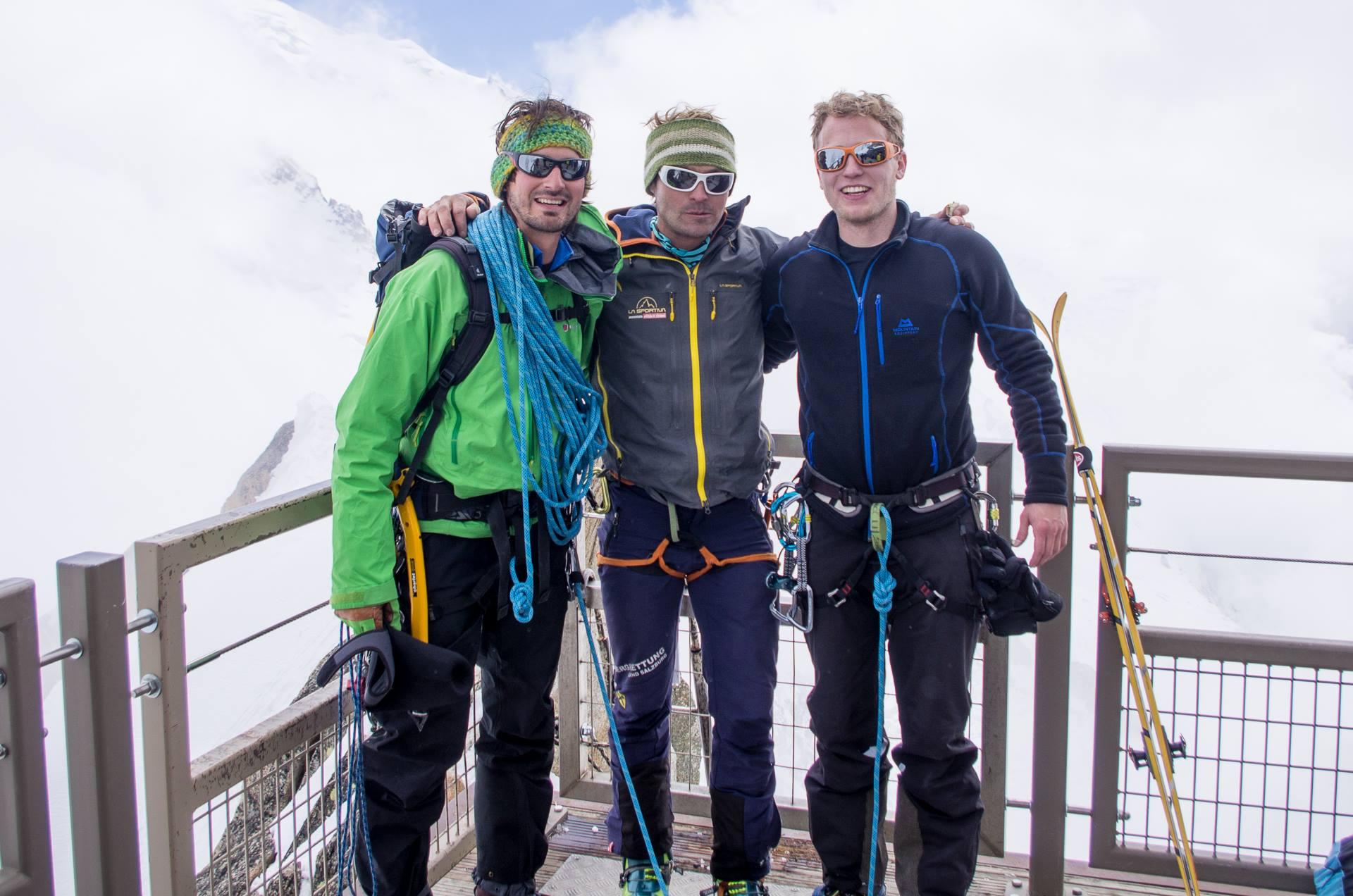 Klettersteig Chamonix : Chamonix eis und mixedtouren powder party bergsport e v