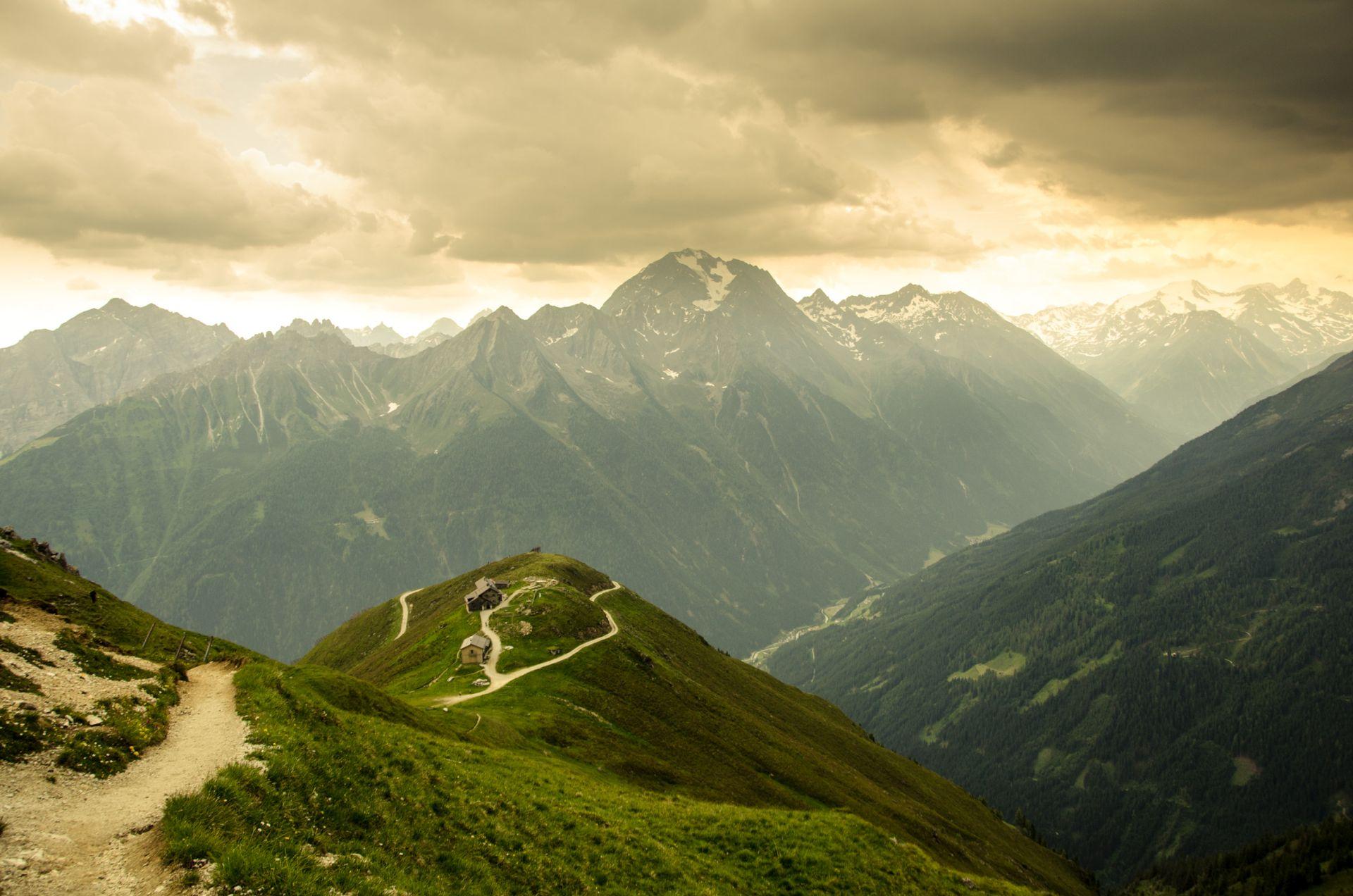 halbwegs auf dem berg